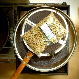 コーヒーの焙煎セット