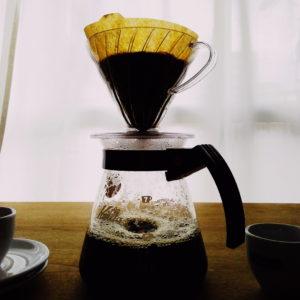 dripped coffee