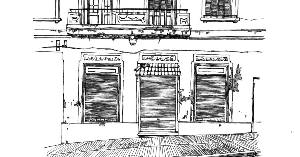 モンテビデオの街並み