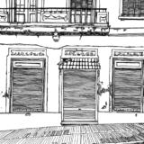 【写真】古い洋館の6畳の部屋をリフォームし生活した4年間(2008~2011)