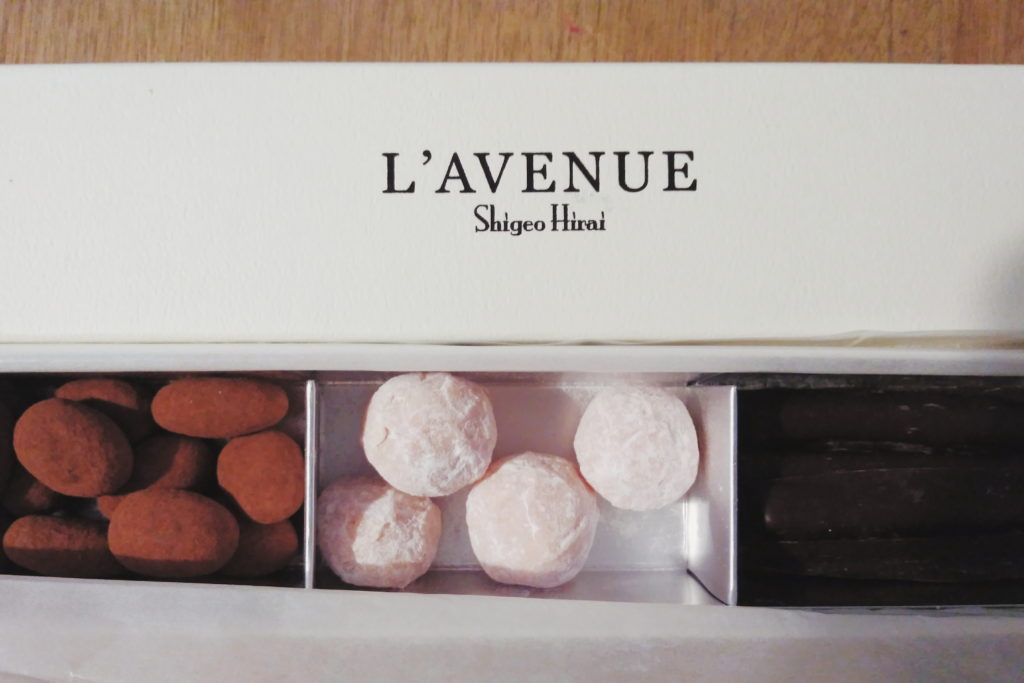 2019年2月。サロン・デュ・ショコラで妻のために購入したチョコレート