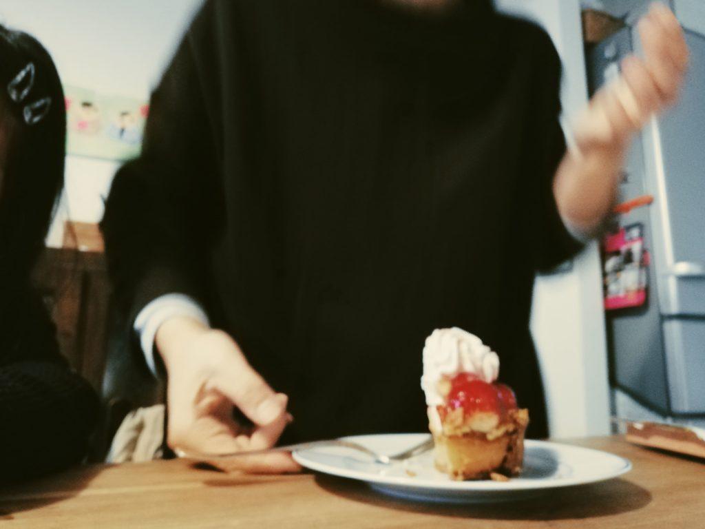 イチゴのタルトと誕生日
