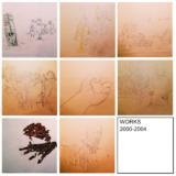 学生時代のデッサン(2000〜2004年)。絵を描くことの再開。回復への意志