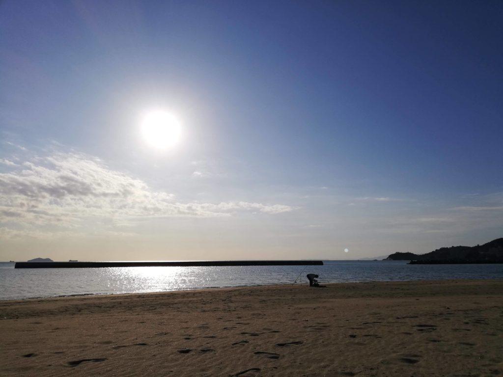 和歌の浦の海岸