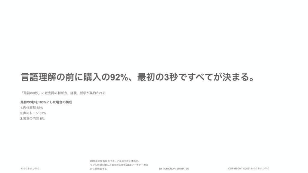 2016年の接客販売マニュアルの分析と体系化_購入心理